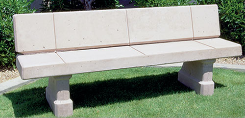 Concrete Landscape Benches Outdoor Concrete Benches Design Cast Products