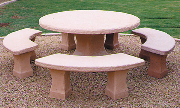 Concrete Landscape Tables Outdoor Concrete Tables Design Cast Products